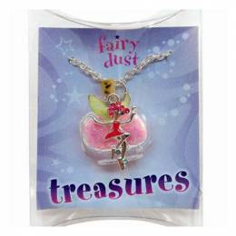 Fairy Dust Pink Fairy Treasures Necklace