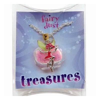 Pink Fairy Treasures Necklace