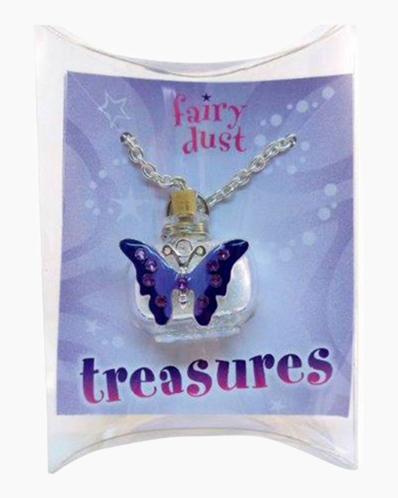 Fairy Dust Butterfly Treasures Necklace