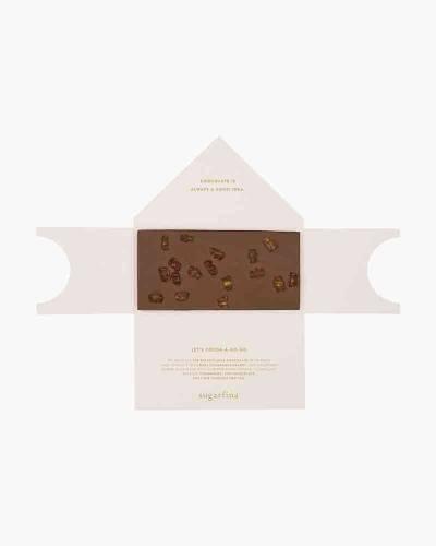 Baby Champagne Bears Milk Chocolate Bar
