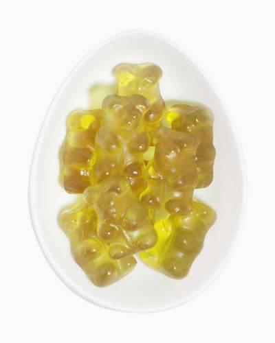 Green Juice Gummy Bears (Medium Bottle)
