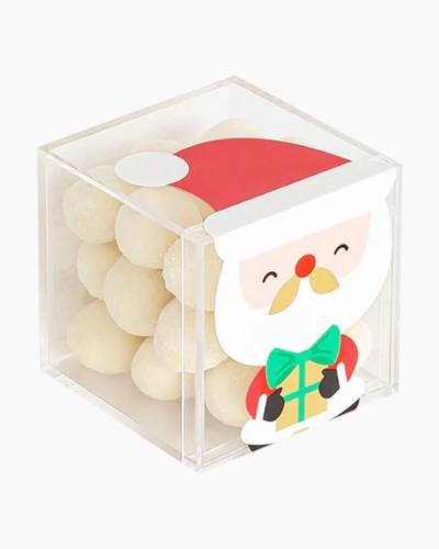 Santa's Cookies Holiday Character Candy Cube