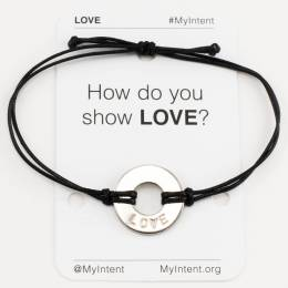 MyIntent Project Love Word Bracelet