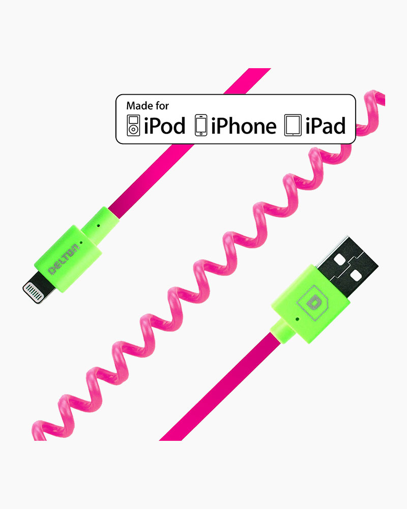 Delton iPhone Lightning Charge and Sync Cable