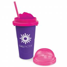 Chill Factor Slushy Maker Cup in Purple
