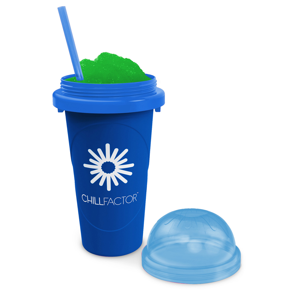 Chill Factor Slushy Maker Cup in Blue