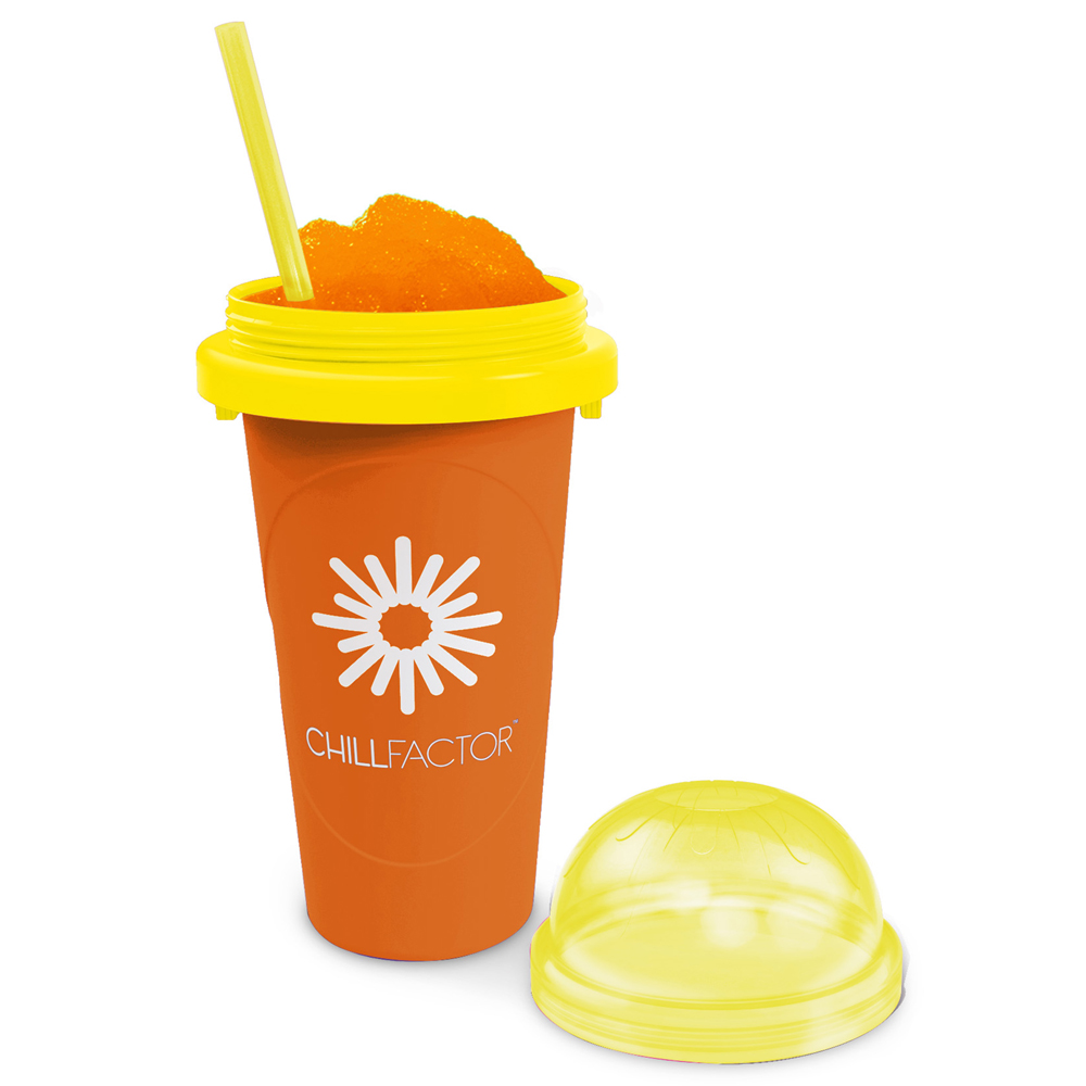 Chill Factor Slushy Maker Cup in Orange