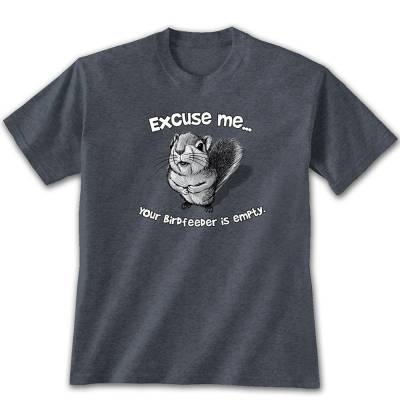Men's Excuse Me Squirrel Graphic Tee