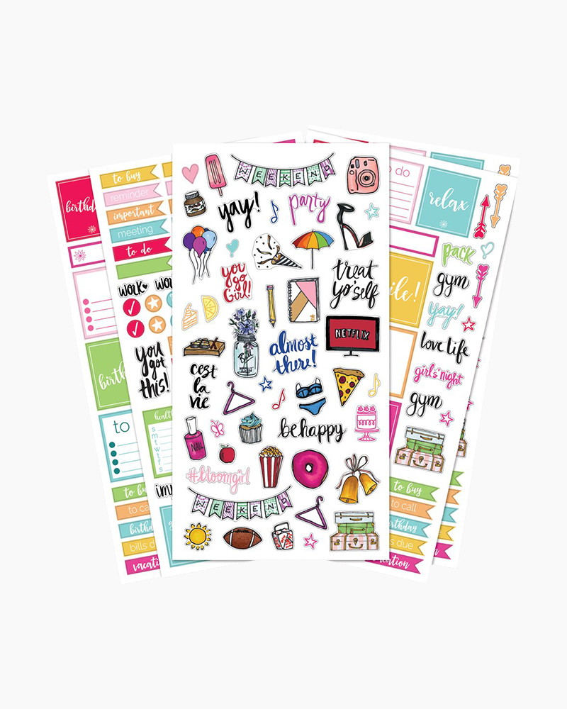 photograph regarding Daily Planners referred to as Clic Planner Stickers