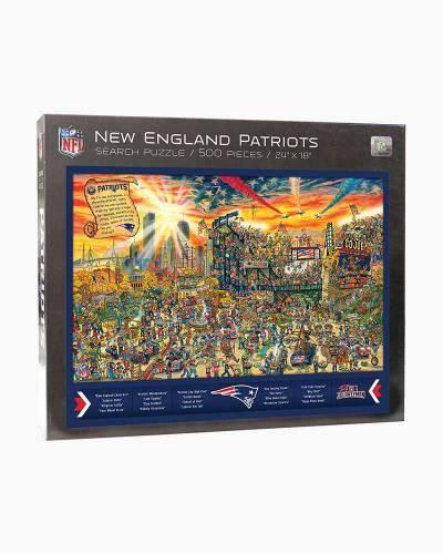 New England Patriots Find Joe Journeyman Puzzle