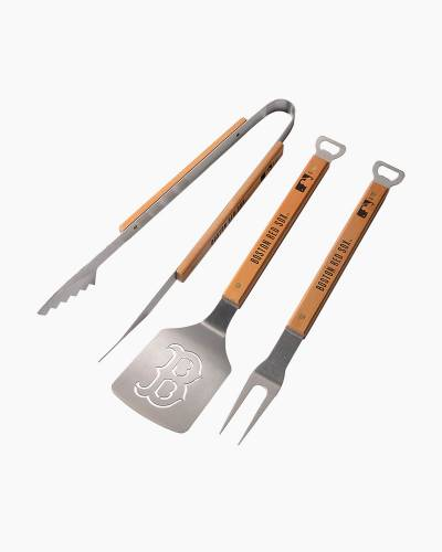 Boston Red Sox 3-Piece Barbeque Set