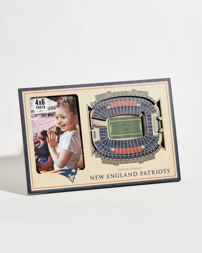 New England Patriots Gillette Stadium 3D Picture Frame