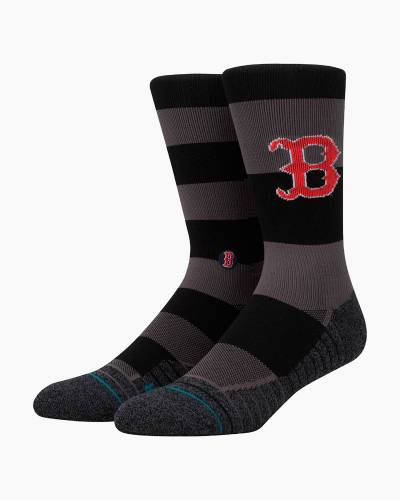 Red Sox Nightshade Casual Men's Crew Socks