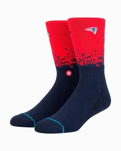 Patriots Fade Men's Crew Socks