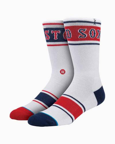 Boston Red Sox Fenway Men's Crew Socks