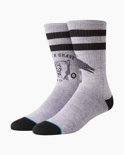 Life's a Grave Men's Crew Socks