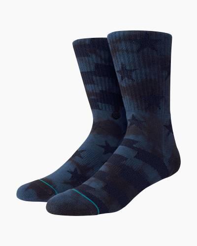 Side Reel Men's Crew Socks