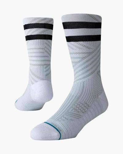Uncommon Train White Men's Training 360 Crew Socks