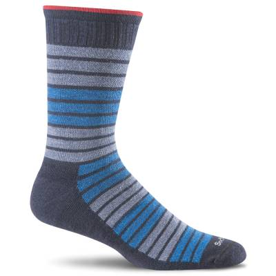 Men's Synergy Compression Socks in Navy