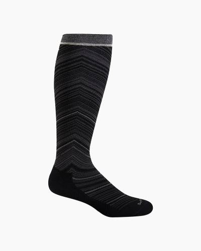 Women's Full Flattery Compression Socks in Black