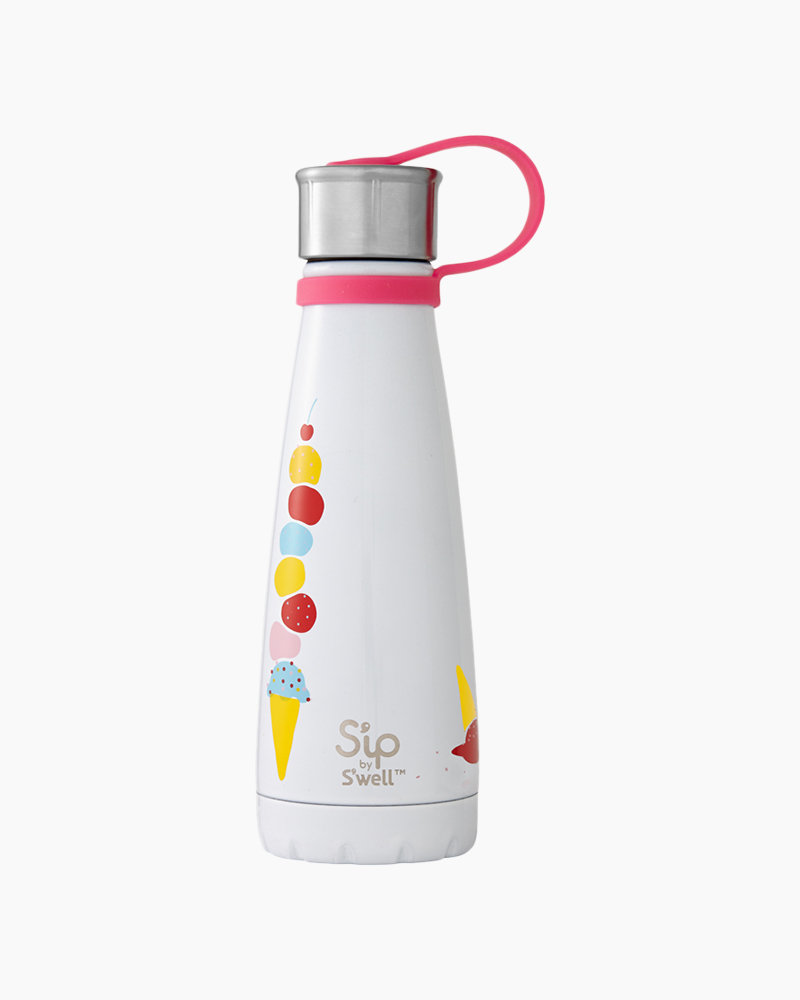 10 oz. The Scoop S'ip Stainless Steel Water Bottle