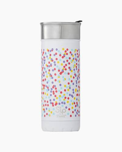 16 oz. Dots and Spots S'ip Stainless Steel Travel Mug