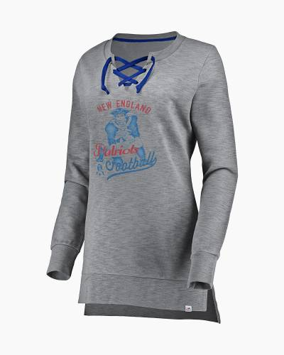 New England Patriots Women's Historic Lace-Up Tunic