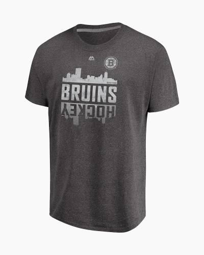 Boston Bruins Men's Hockey Skyline Tee