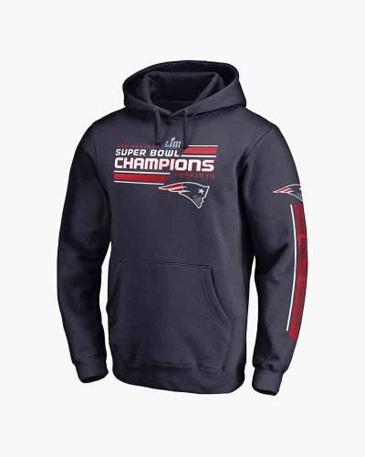 New England Patriots Super Bowl LIII Champions Juke Hoodie