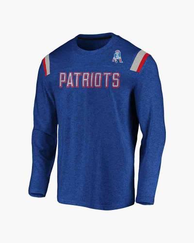 New England Patriots Men's Vintage Slub Long Sleeve T-Shirt