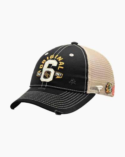 Boston Bruins Original Six Trucker Hat