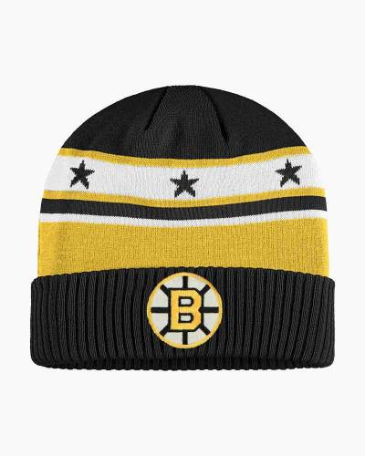 Men's Boston Bruins Cuff Knit Beanie