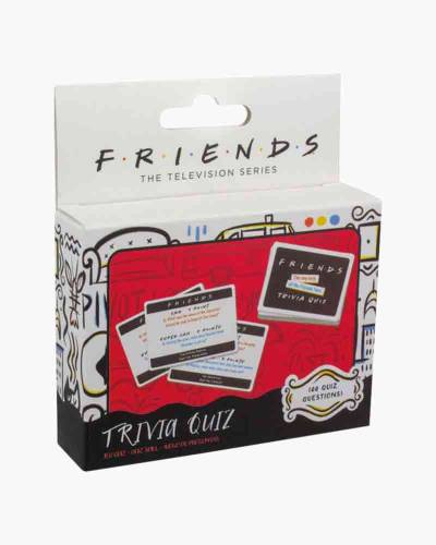 Friends Trivia Card Game