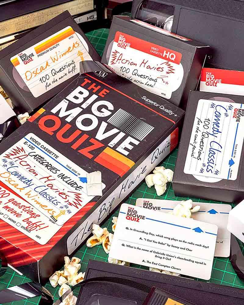 The Big Movie Quiz Trivia Game From Professor Puzzle Ltd.New In Original Package