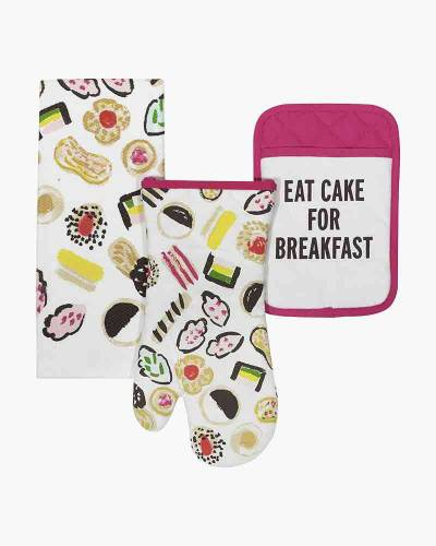 Eat Cake for Breakfast 3-Piece Cooking Set