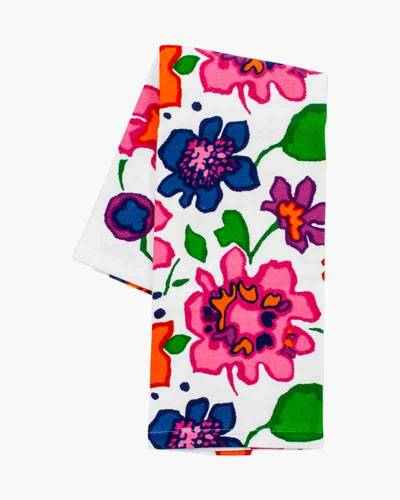 Festive Floral Kitchen Towel