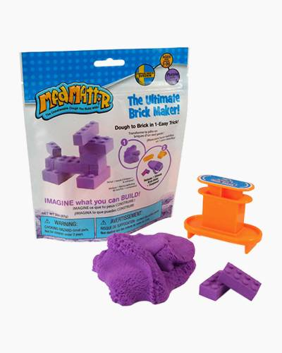 Mad Mattr Molding Dough Brick Maker in Purple