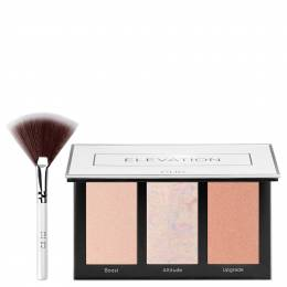 PUR Cosmetics Elevation Mini Highlighter Palette with Fan Brush