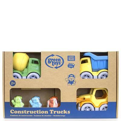 Construction Trucks Gift Set