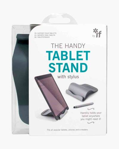 The Handy Tablet Stand with Stylus in Grey