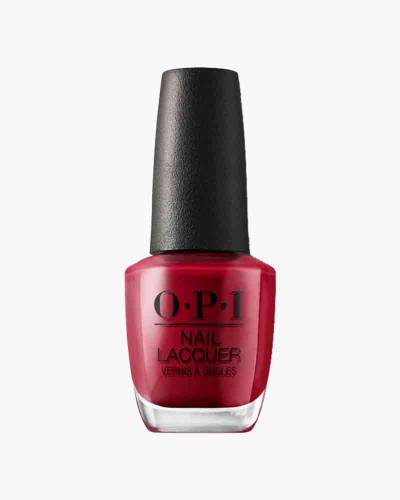 OPI Red Nail Lacquer