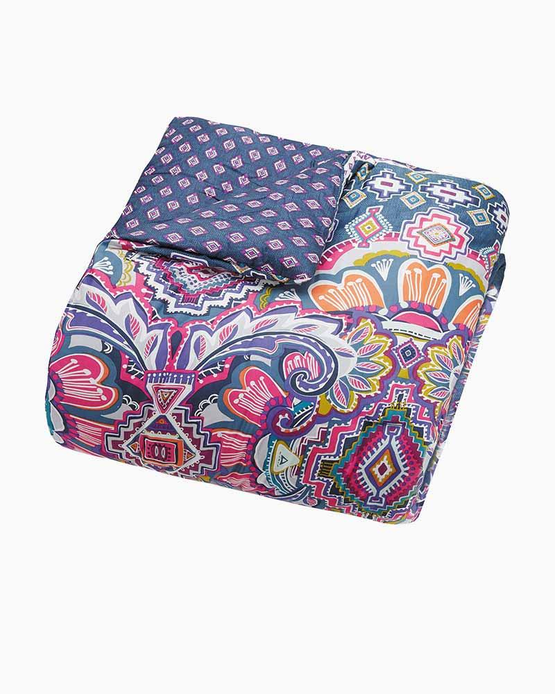 Vera Bradley Sedona Medallion Comforter Set Fullqueen The Paper
