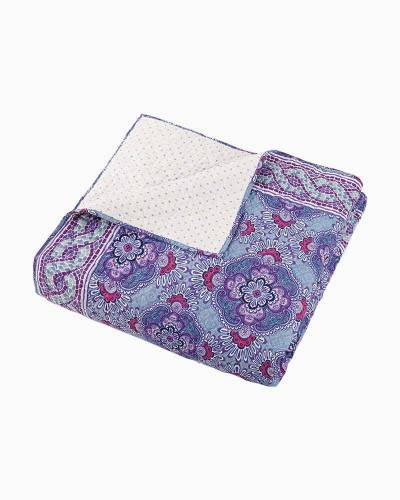 Lilac Tapestry Quilt (Twin)