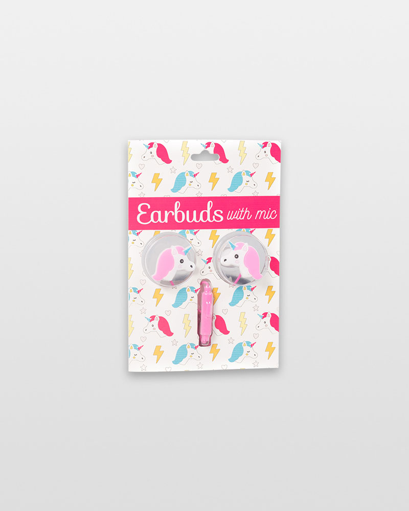 14ec31e1e2d Gabba Goods Unicorn Earbuds with Built-In Mic | The Paper Store
