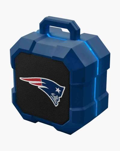 New England Patriots ShockBox LED Bluetooth Speaker
