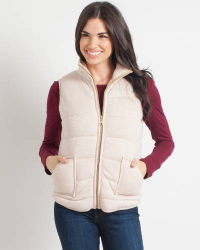 Exclusive Quilted Jersey Knit Vest