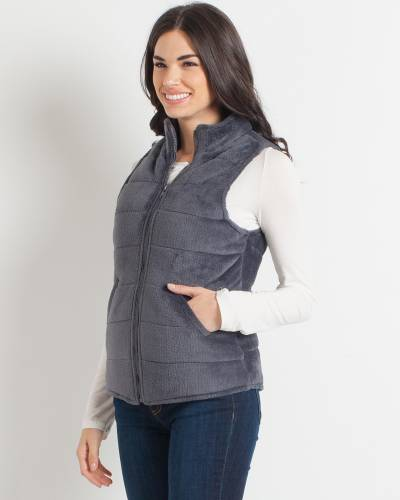 Exclusive Grey Fleece Vest