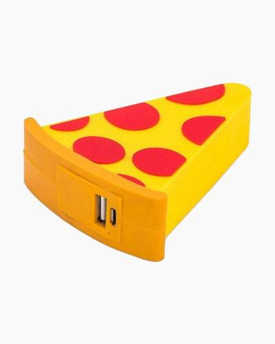 Pizza Emoji Portable Power Bank Charger