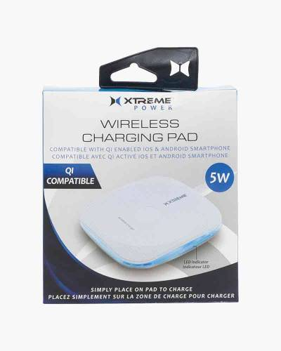 Wireless QI Charging Pad in White