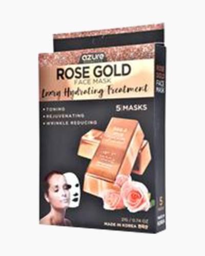 Rose Gold Face Masks (5-Pack)